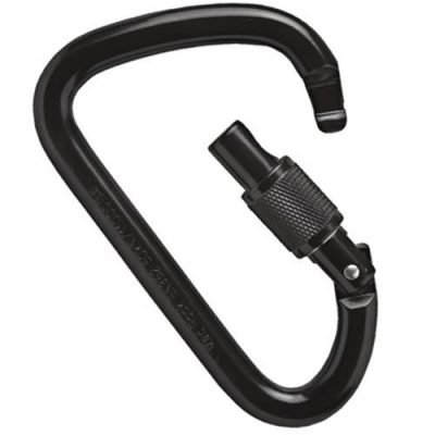 XL steel screw lock negro